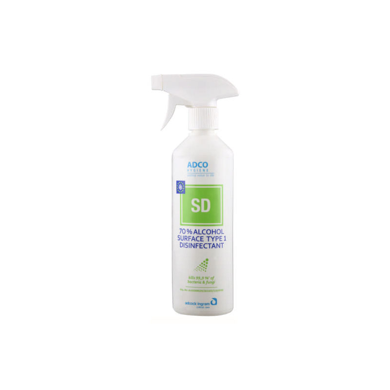 Hygiene Surface Disinfectant 70 Alcohol 500ml 1